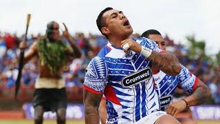 Fierce Haka v Samoan War Dance (Siva Tau)