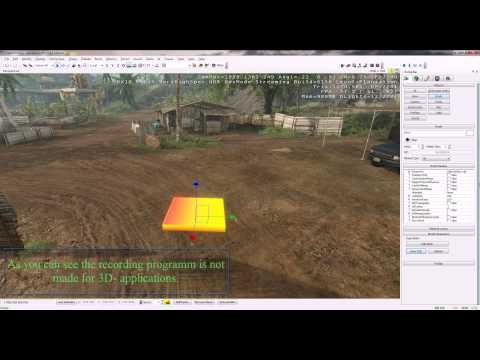 SketchUp 7 models CryEngine 2 (How to make it right) [1040p]