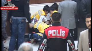 Elaz��spor Kongresi'nde Kavga