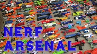 getlinkyoutube.com-Wazzup1207's NERF ARSENAL (Over 200 blasters!)