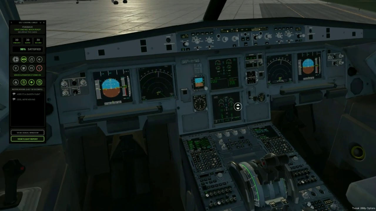 Crew and Captain Departure Automation