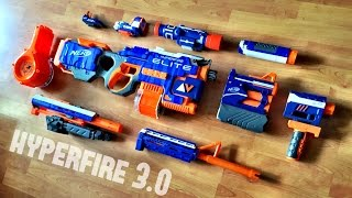 getlinkyoutube.com-[MOD] Nerf HYPERFIRE 3.0 | Nerf Elite Modulus Attachments