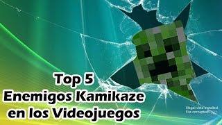 getlinkyoutube.com-Top 5 Enemigos Kamikaze en los Videojuegos