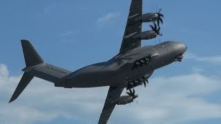 getlinkyoutube.com-ILA 2014 | Amazing Display Airbus A400M at ILA Berlin Air Show 2014
