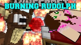 getlinkyoutube.com-Minecraft: BURNING RUDOLPH (THE RED NOSED REINDEER HOUSE!) Mini-Game