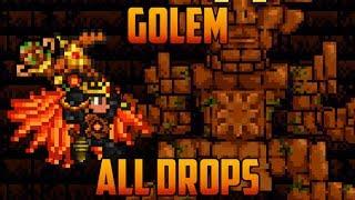 getlinkyoutube.com-Terraria - Golem Boss & all drops [Spoilers]