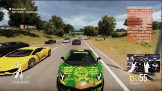 Forza Horizon 2 1000+hp Club Highway Fun Open Lobby w/Wheel Cam