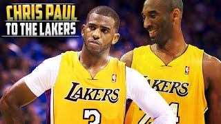 getlinkyoutube.com-What If - Chris Paul Went to The LA Lakers In 2011 TRADE!!