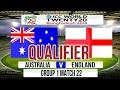 ICC T20 World Cup 2014 Super 8 Qualifier match - Australia v England Group 1 Match 22