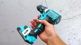 getlinkyoutube.com-Blue DeWalt Brushless Drill