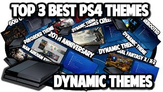 getlinkyoutube.com-[PS4 THEMES] Top 3 Best PS4 Dynamic Themes Video in 60FPS