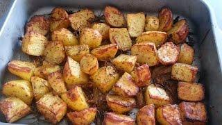 getlinkyoutube.com-pommes de terre au four(sans gluten)(بطاطس بالفرن(خالية من الجلوتين