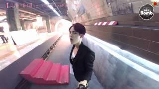 getlinkyoutube.com-[HD繁中字] BTS' selfie recording Danger
