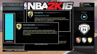 "getlinkyoutube.com-NBA 2K16 - My 5'08"" Point Guard Bagdes Update (DEADEYE & POSTERIZER)"