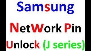 Network pin unlock of samsung Latest J series (J1, J2, J2 PRIME, J5, J7, J5 PRIME)