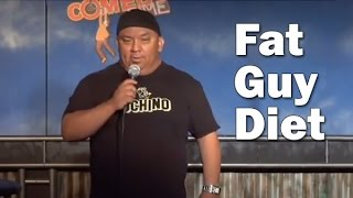 getlinkyoutube.com-Fat Guy Diet (Stand Up Comedy)
