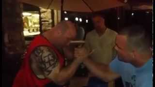 Travis Bagent vs. Scot Mendelson. Fight. Power.