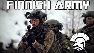 "Finnish Defence Forces - ""Honour, Duty, Will"" 