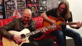 getlinkyoutube.com-UNISONIC Interview. Michael Kiske [SUB ESP] For The Kingdom / Light of Dawn 2014