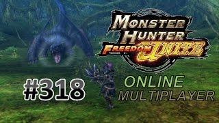 getlinkyoutube.com-Monster Hunter Freedom Unite Online MP #318 | Ash Lao-Shan Lung [G Rank]