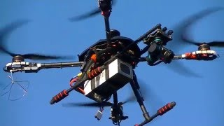 "getlinkyoutube.com-Tarot 650 Sport quadcopter with extended arms and 17"" props (Pixhawk)"