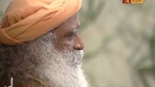 Sadhguru on Vijay TV - with writer Nanjil Nadan
