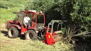 getlinkyoutube.com-SEPPI M. - MINIFORST - Forestry mulcher / trincia forestale / Forstmulcher