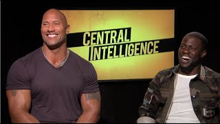 getlinkyoutube.com-CENTRAL INTELLIGENCE interview - Dwayne THE ROCK Johnson, Kevin Hart