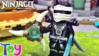 getlinkyoutube.com-decool 닌자고 쟌 고스트닌자 레고 짝퉁 미니피규어 에어로블레이드 Lego knockoff ninjago zane
