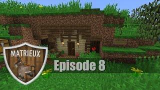 getlinkyoutube.com-Dansk Minecraft - Matrieux EP 8 - Hobbit Hus!