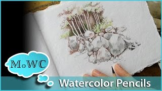 getlinkyoutube.com-Watercolor Pencil Tips for Journaling and Sketching