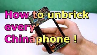 getlinkyoutube.com-How to Unbrick every MTK China Phone ! Preloader / SP Flashtool Fix [HD]