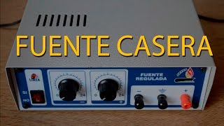 getlinkyoutube.com-Fuente Casera | Parte 1 | ¿Lineal o Conmutada?