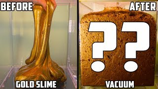 Gold Slime in a Vacuum Chamber width=