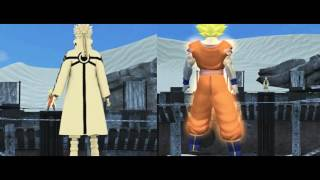 getlinkyoutube.com-Goku vs Naruto (3D Animation)