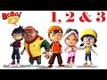 BoBoiBoy English - Season 1 Episode 1, 2 & 3