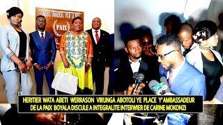 Exclusif Carine mokonzi: Héritier Wata Abotoli Werrason Pouvoir  Akomi Ambassadeur De La Paix