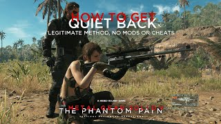 getlinkyoutube.com-MGSV: TPP - How To Get Quiet Back - Legitimate Method (All Platforms)