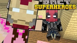 getlinkyoutube.com-Minecraft: SUPERHEROES (BECOME EPIC HEROES & VILLAINS WITH POWERS!) Mod Showcase