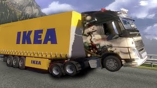 Volvo 100,000 HP ETS2 (Euro Truck Simulator 2)