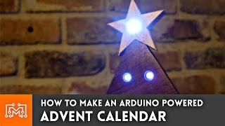 getlinkyoutube.com-Christmas Advent Calendar (Arduino powered) // How-To