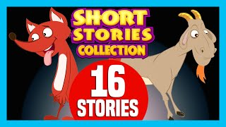 getlinkyoutube.com-SHORT STORY for CHILDREN (16 Moral Stories) | The Fox and The Goat & more