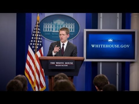 3/19/13: White House Press Briefing