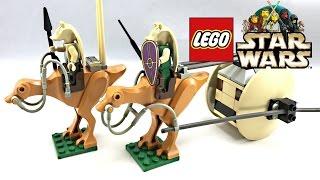getlinkyoutube.com-LEGO Star Wars Gungan Patrol review! 2000 set 7115!
