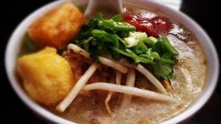 getlinkyoutube.com-How to make Babar (Rice Porridge Soup with Pork)