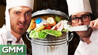 getlinkyoutube.com-Dumpster Food Challenge ft. SORTEDfood