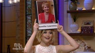 """Jennifer Lawrence plays """"Name that Jen"""""""