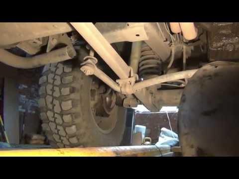 Уаз Патриот-21-серия Передняя подвеска