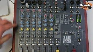 getlinkyoutube.com-Allen & Heath ZED Sixty10FX USB mixer demo at Nevada Music UK
