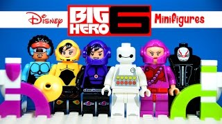 getlinkyoutube.com-The BEST Big Hero 6 LEGO KnockOff  Minifigures You'll EVER See! So Far!